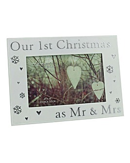 Our First Christmas 4x6 Photo Frame