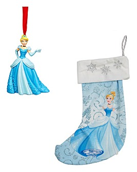 Disney Cinderella Ornament and Stocking