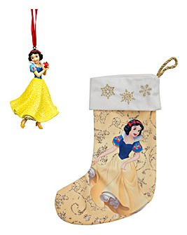 Disney Snow White Ornament and Stocking
