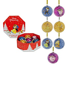 Beauty & The Beast Set of 7 Baubles