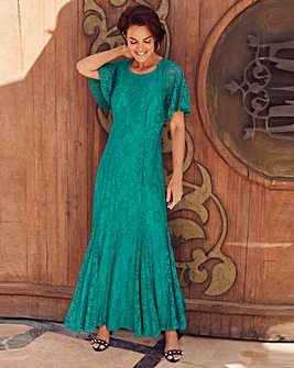Joanna Hope Jade Lace Maxi Dress