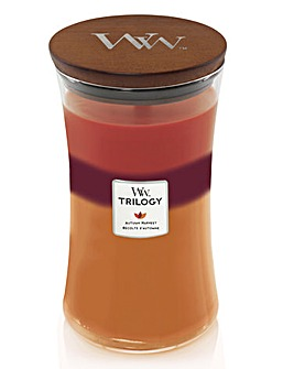 Woodwick Autumn Harvest Trilogy Jar