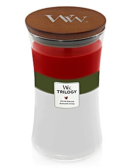 Woodwick Winter Garland Trilogy Jar