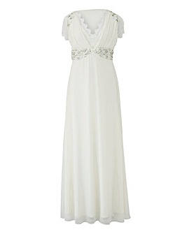 Joanna Hope Jewel Trim Bridal Dress