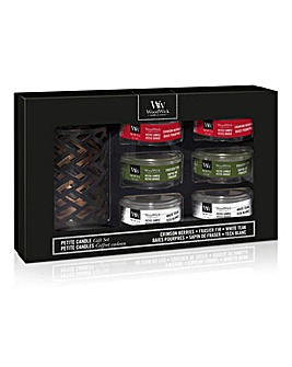 Woodwick Petite Christmas Gift Set