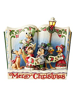 Christmas Carol Storybook Figurine