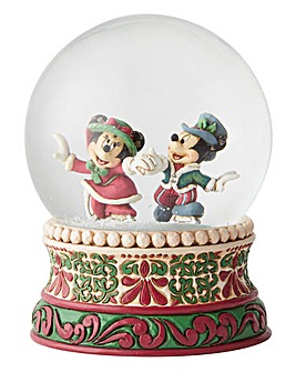 Mickey & Minnie Christmas Waterball