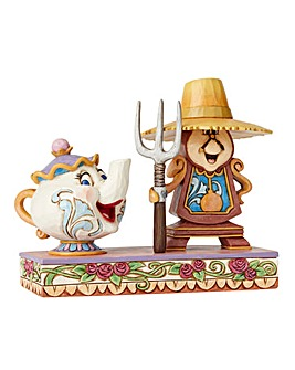 Mrs Potts & Cogsworth Figurine