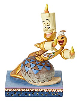 Lumiere & Feather Duster Figurine