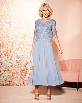Nightingales Lace Detail Dress