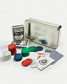 Personalised Poker Gift Tin