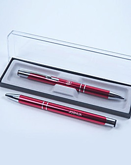 Personalised Football Pen in a Gift Box
