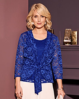 Nightingales Lace Top and Jacket