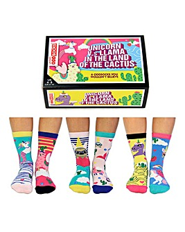 Unicorn Vs Llama Oddsocks