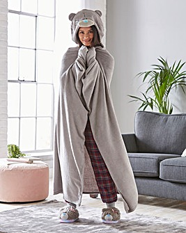 Me to You Hooded Blanket