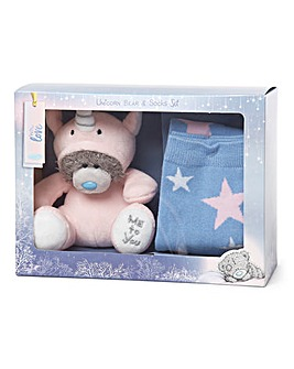 Me to You Unicorn Plush & Socks Set