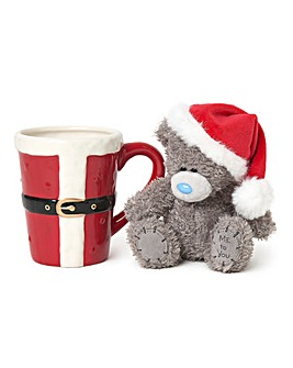 Me to You Santa Plush in a Mug