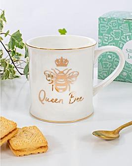 Sass & Belle Queen Bee Mug