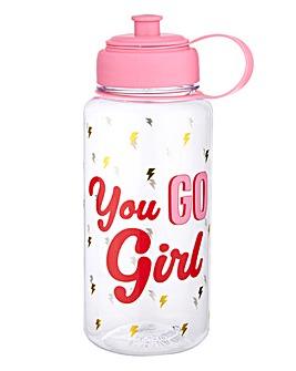 Sass & Belle Girl Power Water Bottle