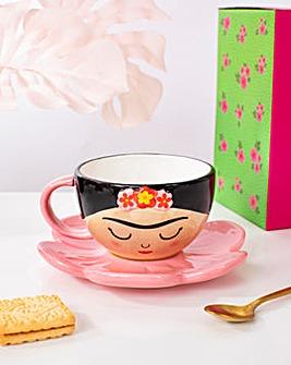 Sass & Belle Frida Boho Fiesta Cup & Saucer