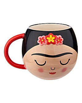 Sass & Belle Frida Shaped Mug