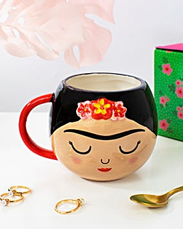 Sass & Belle Frida Boho Fiesta Shaped Mug