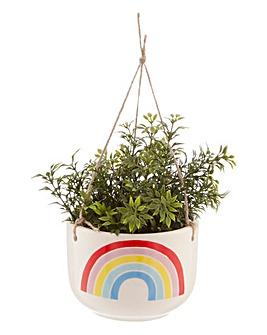 Sass & Belle Rainbow Hanging Planter