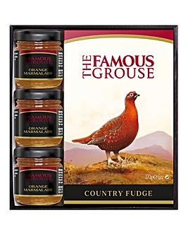 Famous Grouse Fudge & Minis Gift Box