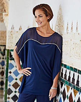 Joanna Hope Diamante Trim Tunic