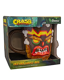 Crash Bandicoot Uka Uka Mug