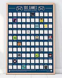 100 Video Games Bucket List