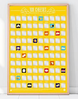 100 Cheeses Bucket List