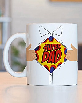 Superdad Heat Change Mug