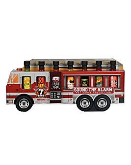 Fire Truck 7pk Hot Sauces
