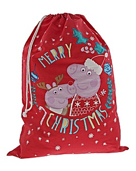 Peppa Pig & George Christmas Sack
