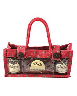 Bramble Star Afternoon Tea Jute Bag