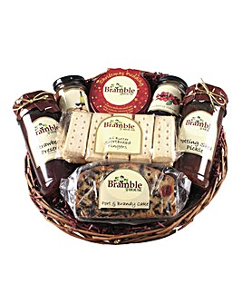 Bramble Christmas Basket Hamper