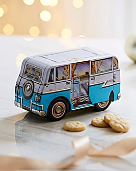 Campervan Shortbread Tin