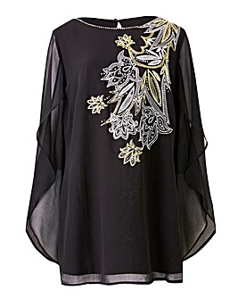 Joanna Hope Sequin Detail Tunic