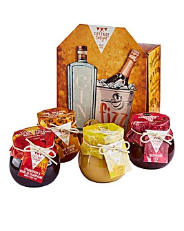 Cottage Delight Gin & Fizz Gift Box