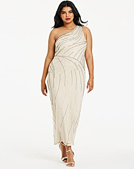 Joanna Hope One Shoulder Maxi Dress