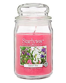 Starlytes Large Candle Sweet Pea