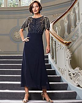 Joanna Hope Sequin Detail Maxi Dress