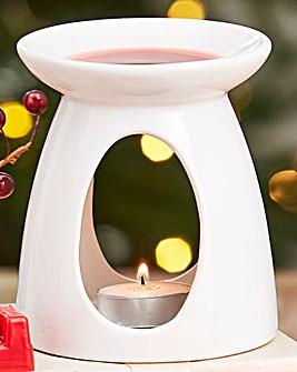 Starlytes Christmas Wax Melt Burner Set