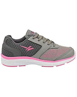 Gola Geno girls lace up sports trainers