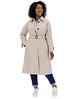 Tommy Hilfiger Midi Length Trench
