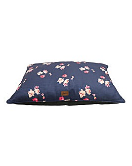 Joules Floral Print Pet Mattress Large