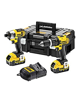 Combi Drill & Impact Driver Twin Pack