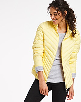 Lemon Lightweight Short Puffer Jacket