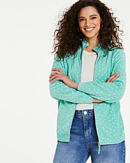 Mint Spot Fleece Jacket